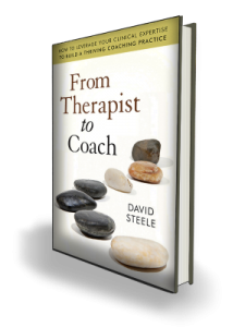 From Therapist to Coach book
